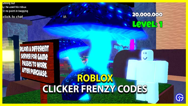 Roblox Clicker Frenzy Codes