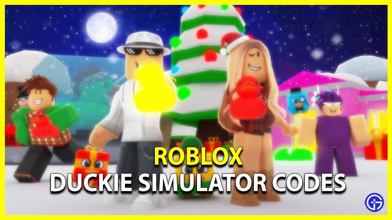 Roblox Duckie Simulator Codes