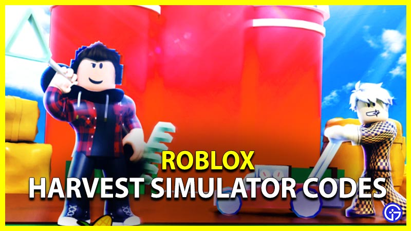 Roblox Harvest Simulator Codes