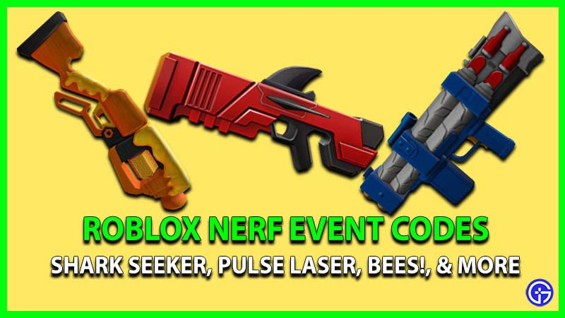Roblox Nerf Event Codes Shark Seeker in mm2