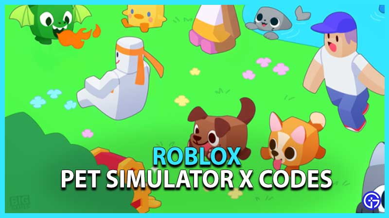 Roblox Pet Simulator X Codes
