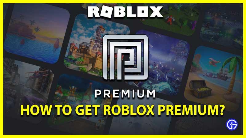 Roblox Premimum