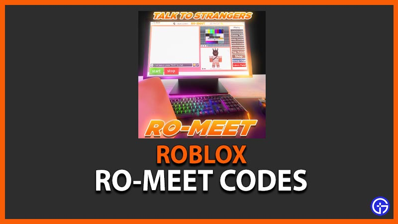 Roblox Ro-Meet Codes