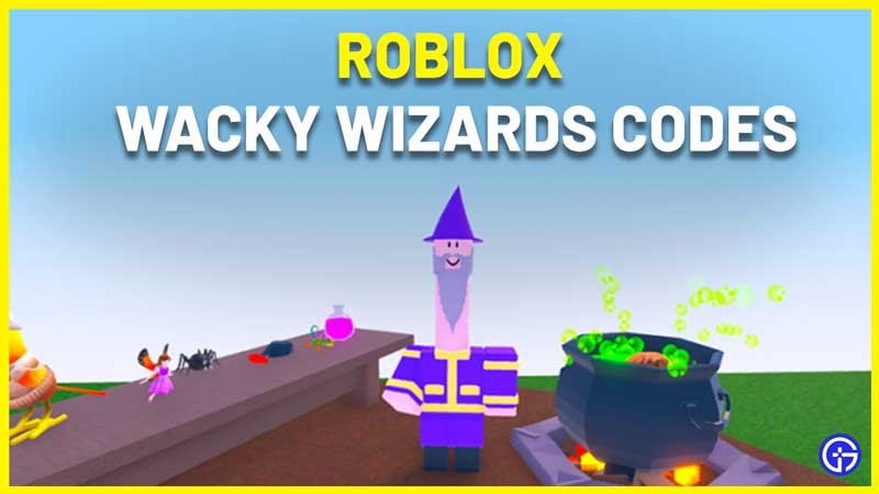 Roblox Wacky Wizards Codes List