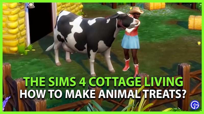 Sims 4 Cottage Living Animal Treats