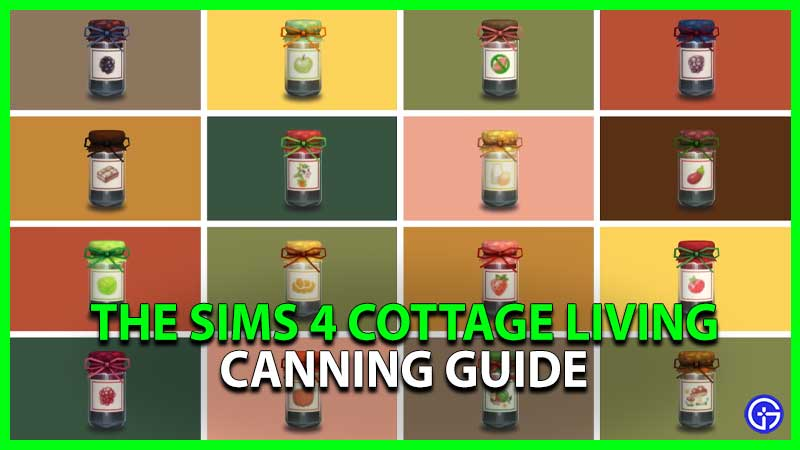 Sims 4 Cottage Living Canning