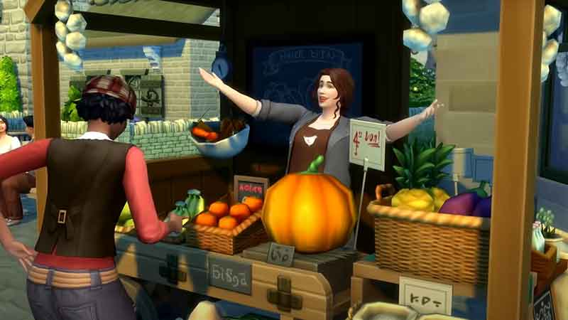 Sims 4 Cottage Living Groceries Guide