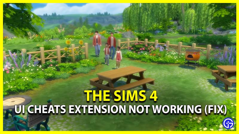 Sims 4 UI Cheats Extension Not Working Fix