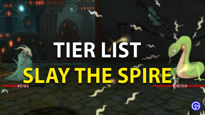Slay The Spier Tier List