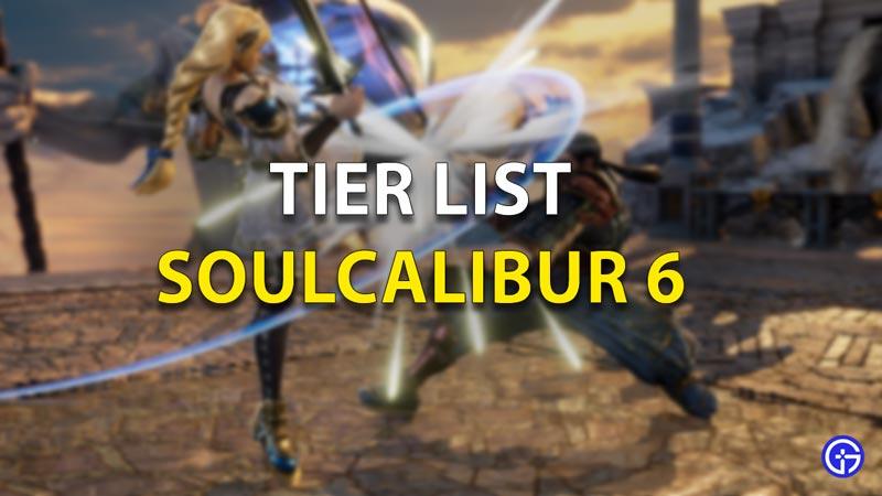 Soulcalibur 6 tier list