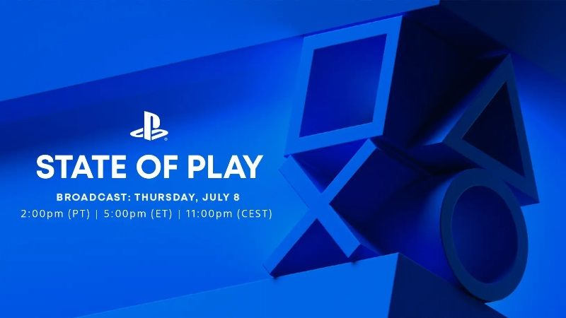 State of Play July 2021 Date and Time Confirmed