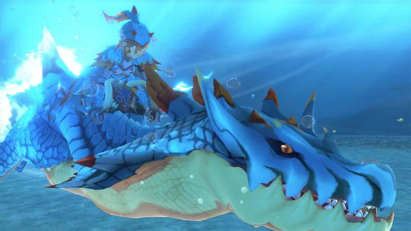 Swim Monster Hunter Stories 2