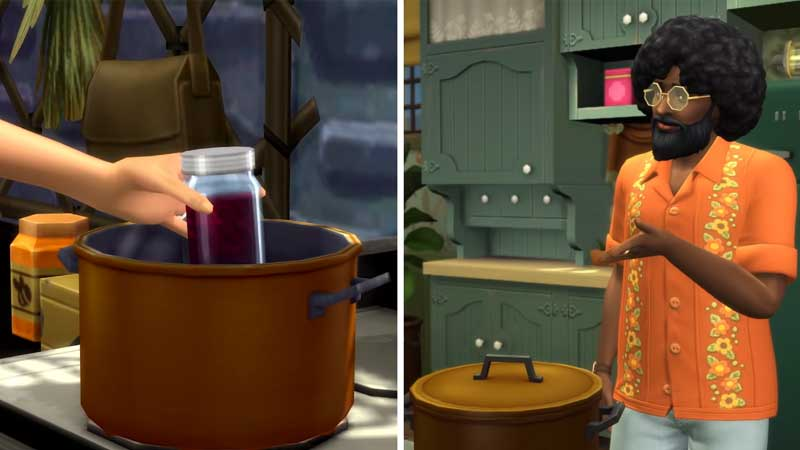 The Sims 4 Cottage Living Canning Canned Food Recipes