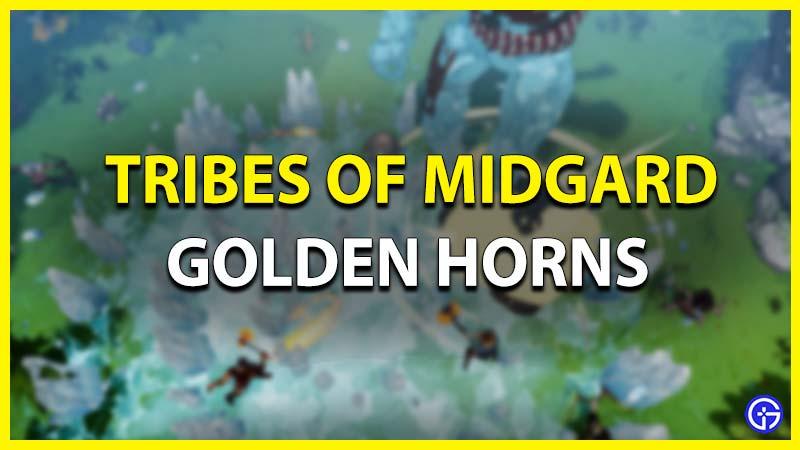 Tribes Of Midgard Golden Horns