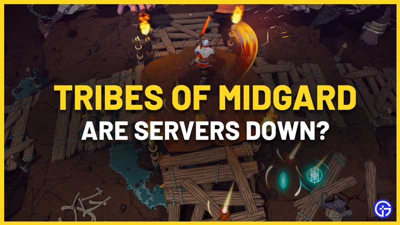 Tribes of Midgard Servers Down How To Check Server Status