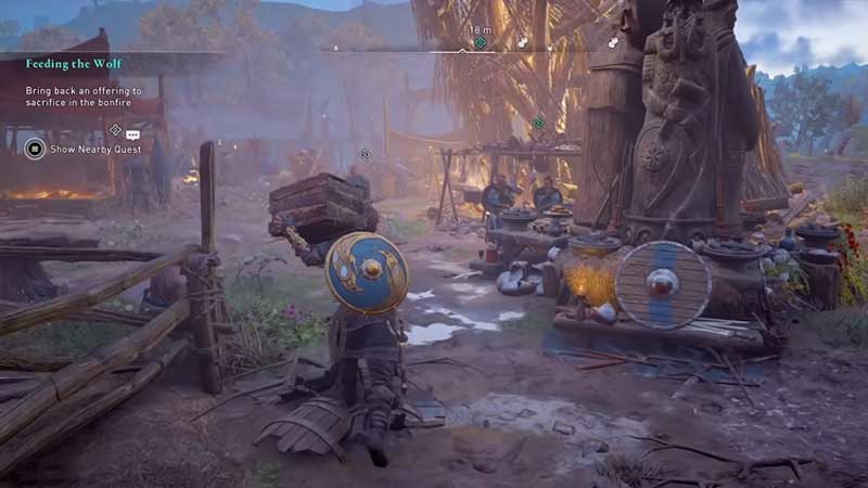 Valhalla Sigrblot Thyra Sacrifice Bonfire Offering