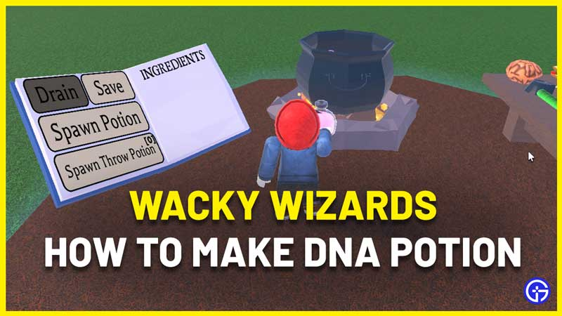wacky wizards dna potion guide