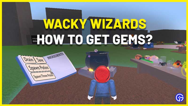 Wacky Wizards Gems Guide how to use gems