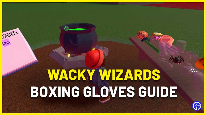 How To Get Boxing Gloves In Wacky Wizards