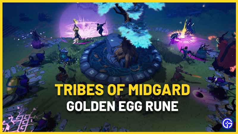 What does the Golden Egg Rune in Tribes Of Midgard do