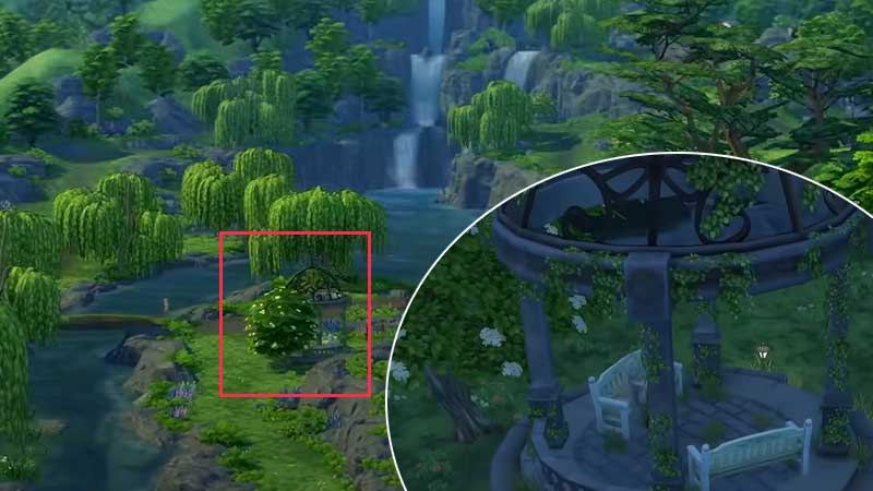 where to find mushroom locations sims 4 cottage living