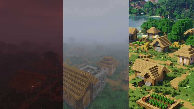 which are the best Minecraft Shaders for 1.17 Caves and Cliffs
