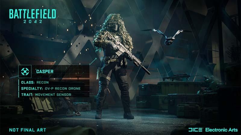 Wikus Casper Van Daele Battlefield 2042 Specialists