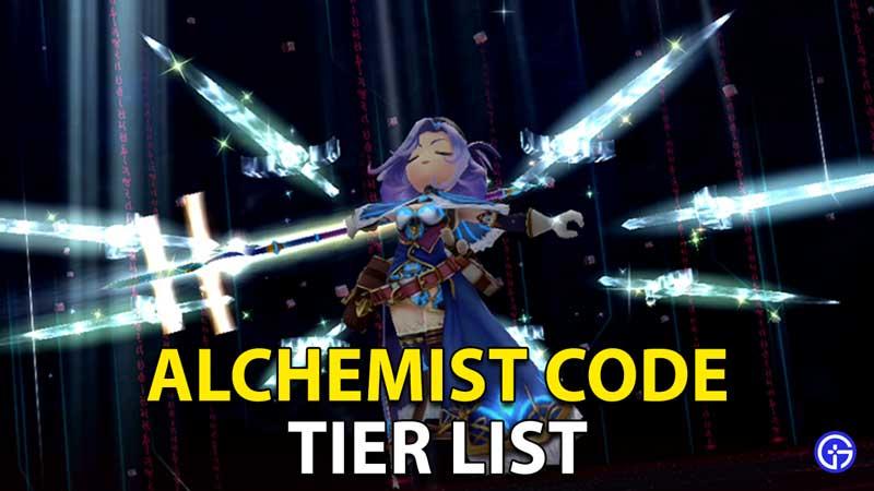 Alchemist Code Tier List