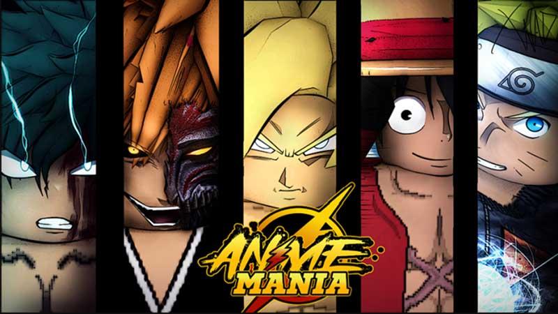 anime mania tier list