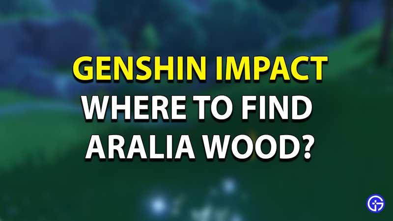 Aralia Woods Genshin Impact