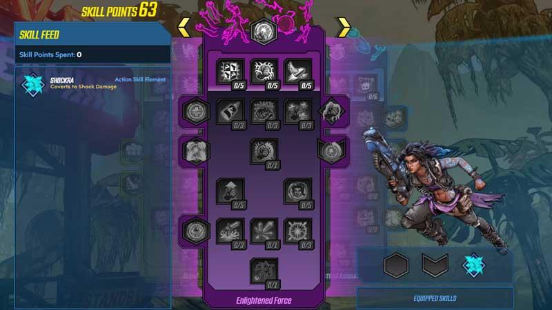 Borderlands 3 Amara Leveling Best Build