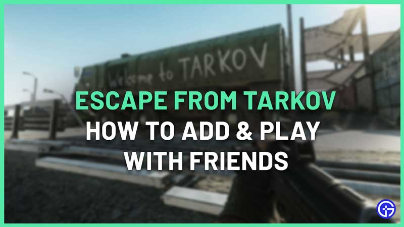 can you play tarkov with friends offline
