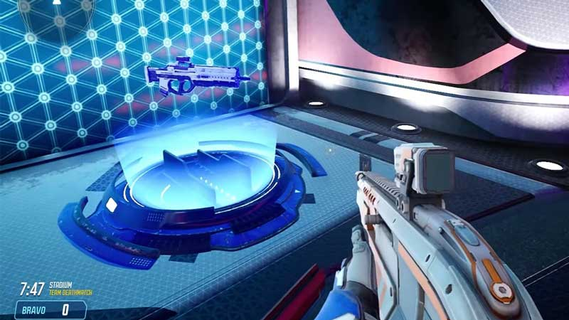 changing weapons splitgate