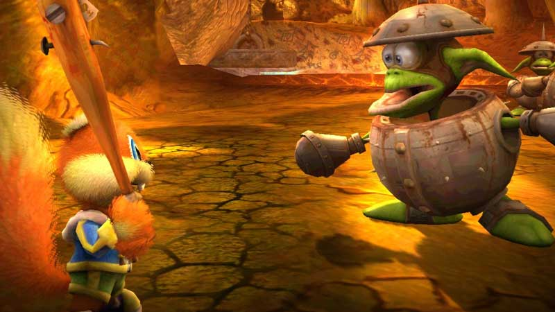 How To Use Cheats In Conker: Live & Reloaded