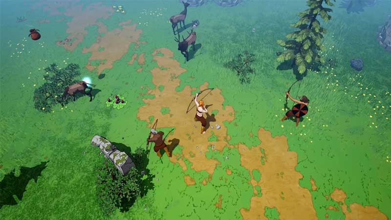 cut stone tribes midgard