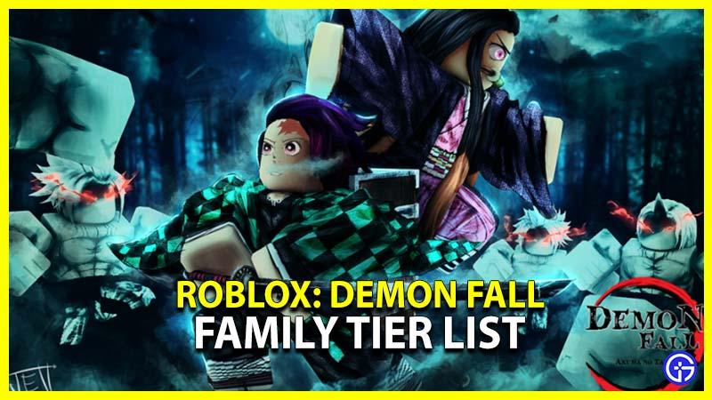 demonfall family tier list