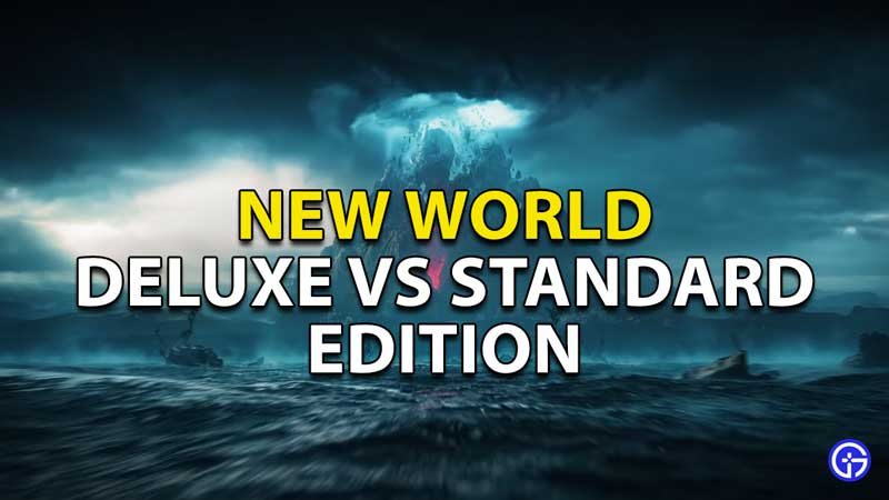 differences between deluxe and standard new world