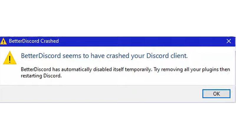 Better Discord Crashing Fix Solution