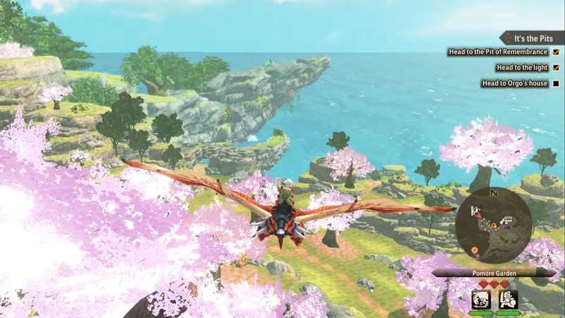 flying monster hunter stories 2