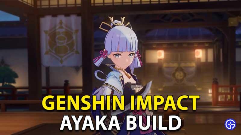 Genshin Impact Ayaka Build: Best Artifacts And Swords