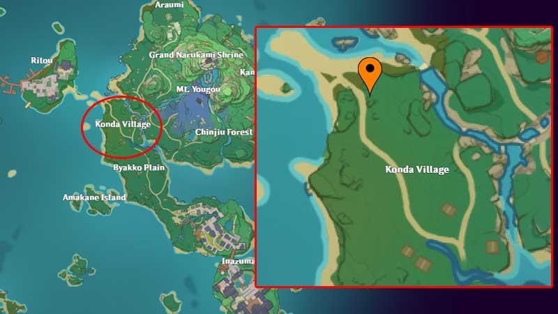 Strange Story Konda Quest Location