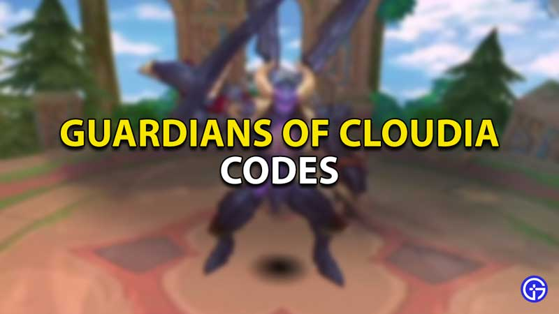 guardians of cloudia codes list