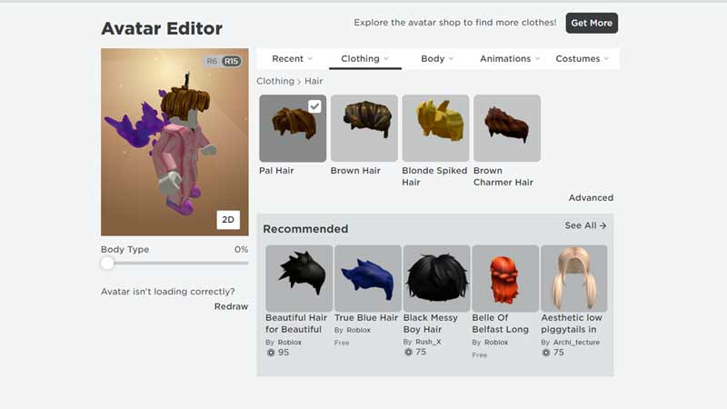 hairstyles roblox