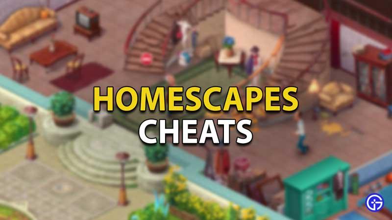 homescapes cheats