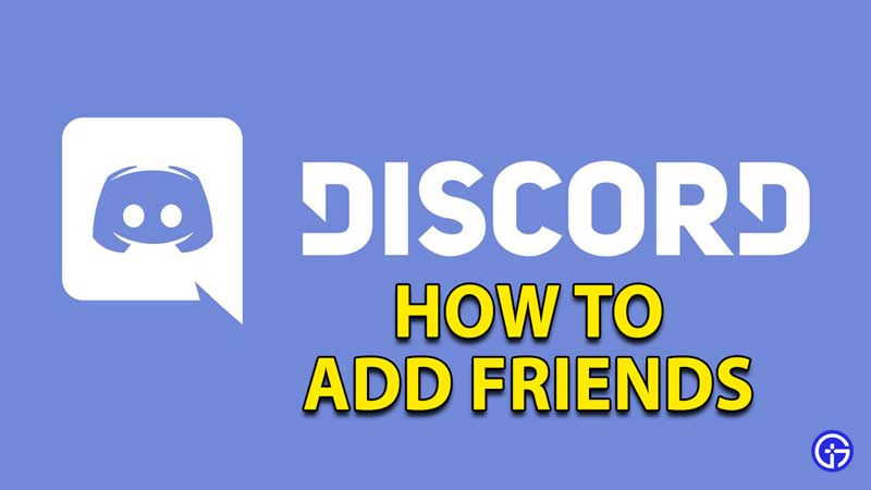 how to add friends in discord