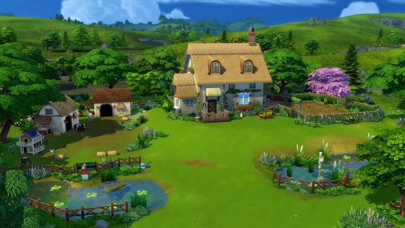 Sims 4 Cottage Living: How To Build A Pond