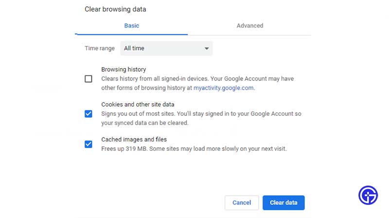 How to Clear Browser Cookies and Cache