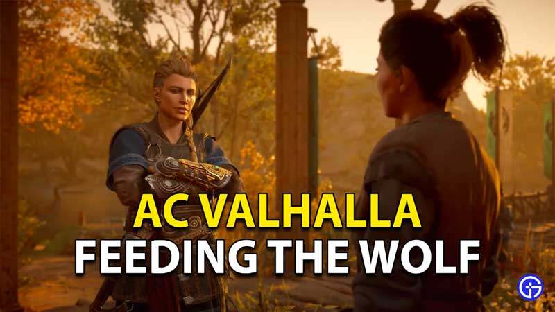 Valhalla Feeding The Wolf quest Assassin's Creed