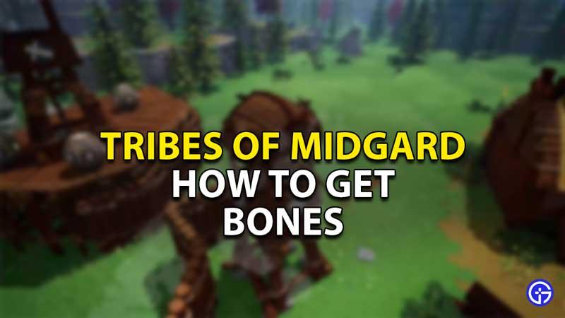 how to get bones tribes of midgard