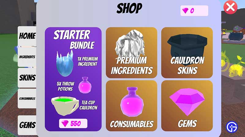 how to get premium ingredients for free